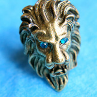 The Mighty Lion Ring