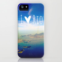 I love Rio iPhone & iPod Case by Louise Machado