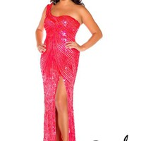 Fabulouss Plus Size 3974F at Prom Dress Shop