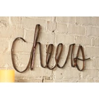 Scrap Cheers Wall Art