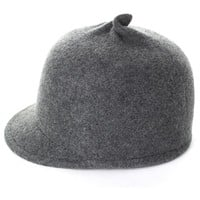 Grey Wool Blend Toyo Cap with Tweaked Top
