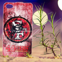 san fransisco 49 ers - Photo Print for iPhone 4/4s, iPhone 5/5s/5C, Samsung S3 i9300, Samsung S4 i9500 Hard Case
