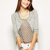 Bling Neck Cardigan