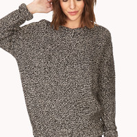 Easy Marled Sweater