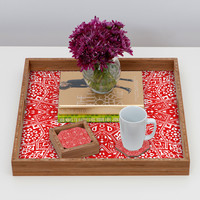 Aimee St Hill Amirah Red Coaster Set