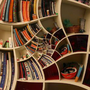 Seemingly Impossible Spiral Bookcase Designs | Designs & Ideas on Dornob