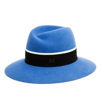 MAISON MICHEL | Virginie Felt Fedora Hat | Browns fashion & designer clothes & clothing