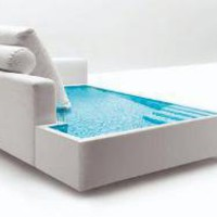 Water Beds, Take Two Funky ?Liquid? Furniture Ideas | Designs &amp; Ideas on Dornob