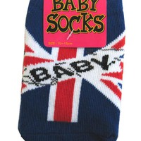 Okutani Union Jack Baby Socks Kids Clothing at Broken Cherry