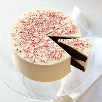 Platine Bakery Peppermint Chocolate Crunch Cake