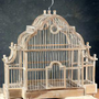 "Recycled Teak Wood Bird Cage $59 (20"" x 21"" ) $59"