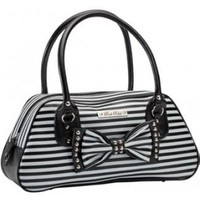 Rock Rebel Striped Purse Accessories Purses at Broken Cherry
