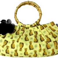 Sourpuss Pineapple Burst Lulu Purse Accessories Purses at Broken Cherry