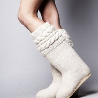 White Classic Boot | NOT JUST A LABEL