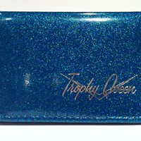 Trophy Queen ID Wallet Turquoise Accessories Wallets - Dames at Broken Cherry