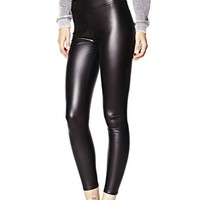 High Waist Coated Legging