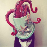 Tentacle Octopus Top Hat by ~apatico on deviantART