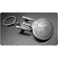 Star Trek USS Enterprise NCC-1701-D Key Chain - Quantum Mechanix - Star Trek - Key Chains at Entertainment Earth