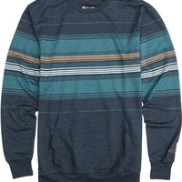 BILLABONG CHOP TOP LS CREW FLEECE