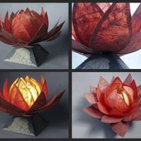 Lotus Lamp by ~banerin on deviantART