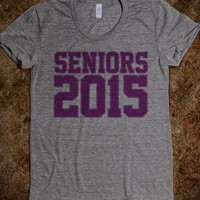 Cool Seniors 2015 Varsity Girls T-Shirt