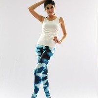 Gradient Casual Jellyfish pattern Leggings for Women Girl Ladies NWL-210458 NWL-210458 - TinyDeal