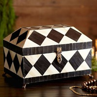HARLEQUIN JEWELRY BOX