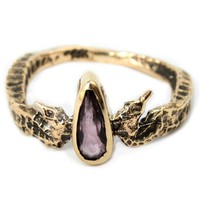Catbird :: shop by category :: JEWELRY :: Rings :: Neptune's Daughter Pink Topaz, Yellow Gold