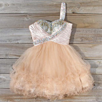 Spool Couture Champagne Mist Dress