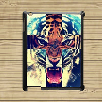 ipad air case,ipad 2 case,ipad 3 case,ipad 4 case,ipad mini case,cute ipad air case,cute ipad mini case,air case--Tiger,Cross,in plastic.