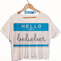 Hello My name is Belieber