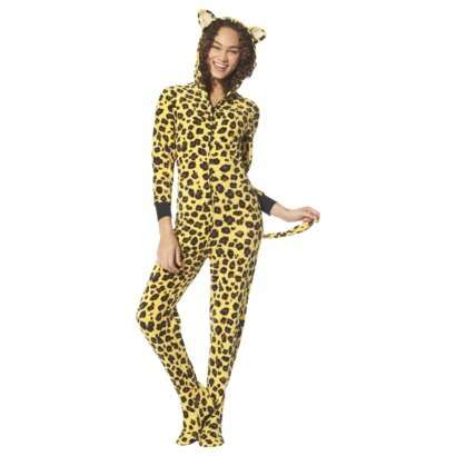 Big Feet Pjs Leopard Print Hoodie Plush Footed Pajamas Onesie. by Big Feet Pajama Co. $ $ 49 FREE Shipping on eligible orders. out of 5 stars 5. Product Features FROM HOOD TO FOOT - One piece footie pajama features a hood with WallFlower Women's Pajama Pant Set - Long Sleeve Sleep Shirt & PJ Lounge Bottoms.