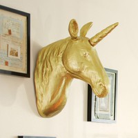 The Emily + Meritt Unicorn Wall Mount