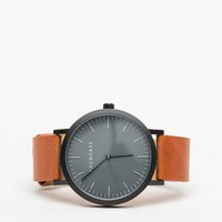 The Horse / Matte Black/ Tan Watch