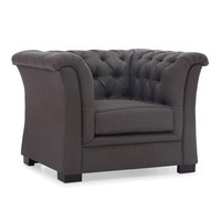 Nob Hill Charcoal Grey Chair