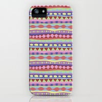 Stripey-Coolio Colors iPhone & iPod Case by Groovity