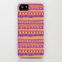 Stripey-Fiesta Colors iPhone & iPod Case by Groovity