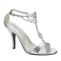 Touch Up Silver Shoes | Silver Prom Shoes | SIlver Homecoming Shoes | Bridal Shoes | GownGarden.com