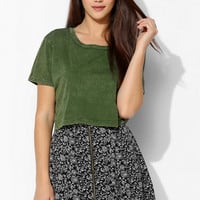 Cooperative Zip-Front Mini Skirt - Urban Outfitters