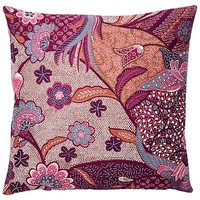 Isabelle 20x20 Cotton Pillow, Purple
