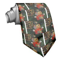 Little Drummer Boy Ornament Necktie