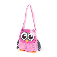 Plush Owl Crossbody Bag | Claire's