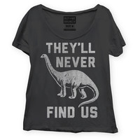 Fancy Politics: Never Find Us Tee Women's, at 9% off!