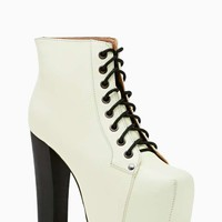 Jeffrey Campbell Lita Platform Boot - Glow In The Dark