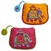 Elephant Coin Purses