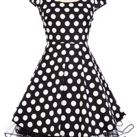Dotty Doll Swing Dress