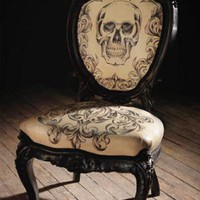 Tattooed Chair By Mama Tried at DecoJournal