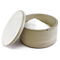 Culinarium: Small Concrete Salt Cellar Gray, at 22% off!