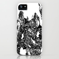 Transformer Abstract iPhone & iPod Case by Carly Anderson