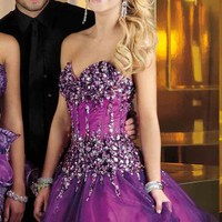 Alyce Short Dress 3564 at Prom Dress Shop